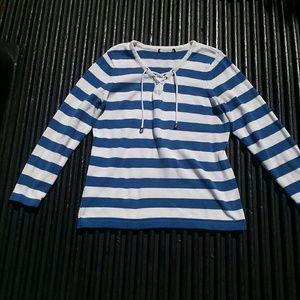 Heavy Knit Striped Sweater